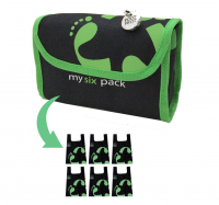 Reusable bag 6-Pack Footprint Bag - Green Original