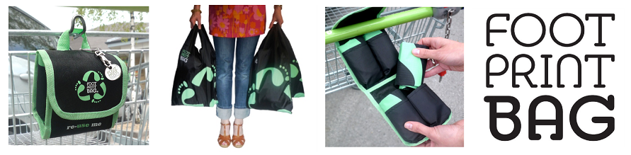 Footprint Bag - Reusable Shopping Bags with a difference