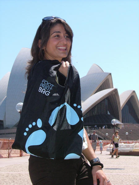 Footprint Reusable Bags down under in Sydney