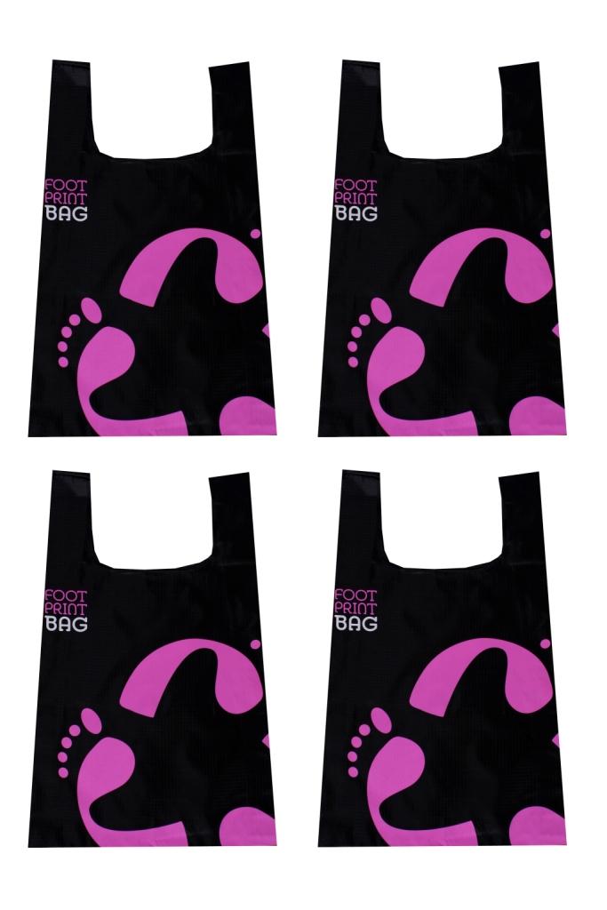 Footprint Bag 4 Bag multipack