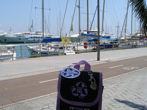 Reusable Bag on holiday 2M