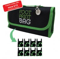 Footprint Bag Combo 3 x 8 Bag Green Packs - SAVE MONEY