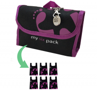 Reusable bag 6-Pack Footprint Bag - Purple Original