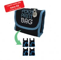Footprint Bag Combo 3 x 4 Bag Blue Packs - SAVE MONEY