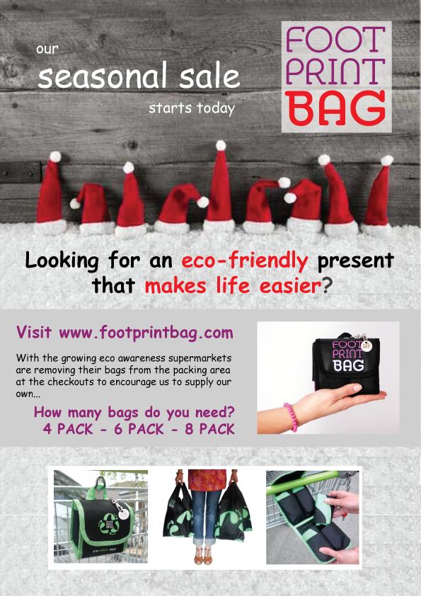 Footprint Bag Xmas Gift 2019
